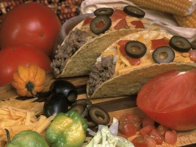 Ingredients For a Mexican Taco