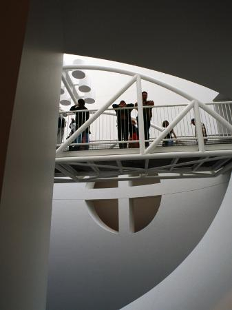 Interior, Museum of Modern Art, San Francisco, U.S.A.