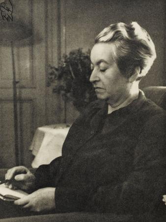 Lucila Godoy Alcayaga Known as Gabriela Mistral Chilean Poet