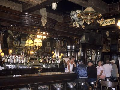 The Interior of the Oldest Bar in Colorado, Leadville, Colorado