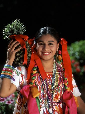 Colorful Dancer, Tourism in Oaxaca, Mexico