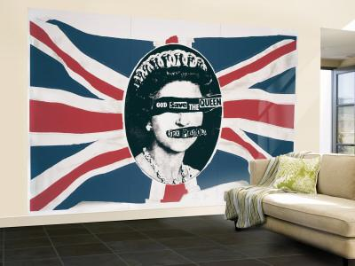 the sex pistols god save the queen single mattress in Westminster