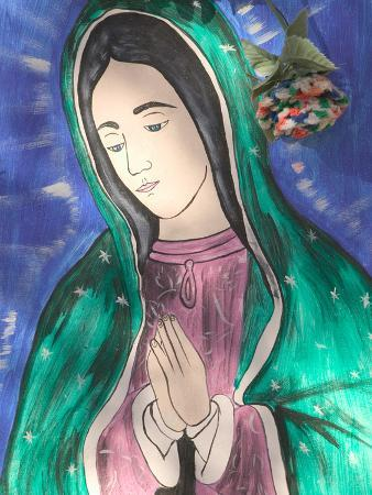 Virgin of Guadaloupe, Chimayo, New Mexico, USA