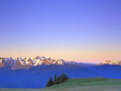 Dawn at Hurricane Hill, Olympic National Park, Washington, USA