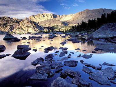 Bridger Wilderness, Wind River Range, Yellowstone National Park, Wyoming, USA