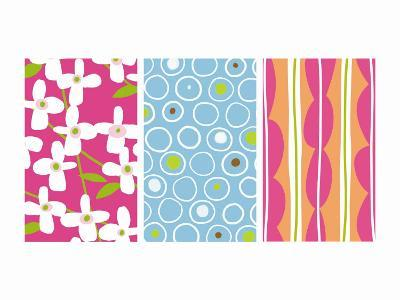 Bright Patterns Triptych