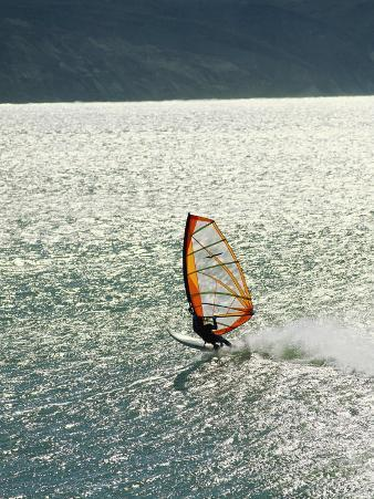 Windsurfer Makes Waves in Baja, Mexico