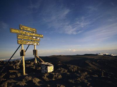 The Summit of Mt. Kilimanjaro