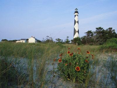 View of Cape Lookout Lighthouse