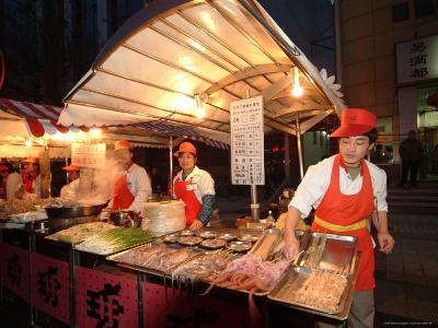 Food Vendors on the City Streets