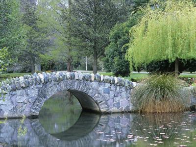 A Stone Bridge in Queenstown Gardens