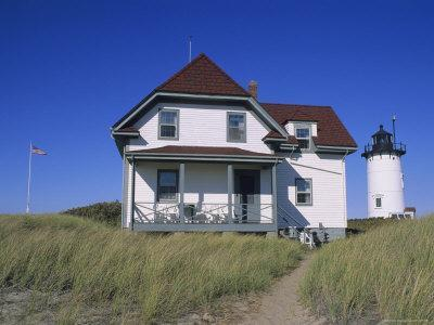 Race Point Lighthouse and Keepers House Built circa 1876