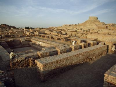 The Remains of a Buddhist Stupa and Monastery from the Kushan Period, Moenjodaro, Pakistan
