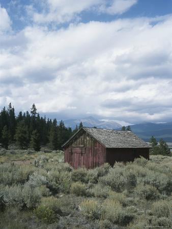 A Deserted Shack Stands in a Field in Colorado