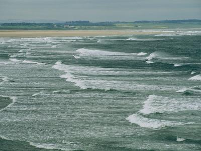 Surf at the North End of Lindisfarne, England