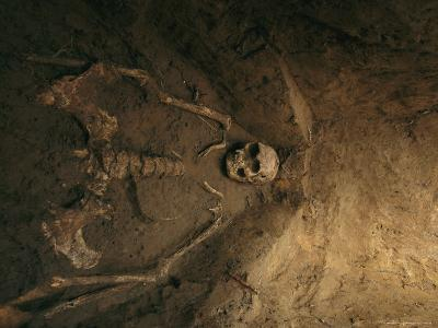 Skeletal Remains of Jamestown Colonist in Grave Unearthed by Archeologists