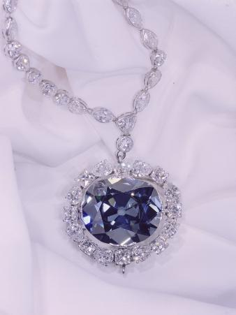 View of the Hope Diamond