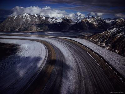 Overview of the 45-Mile-Long Kaskawulsh Glacier
