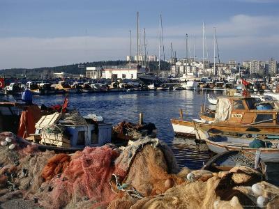 Harbor at Canakkale, Turkey