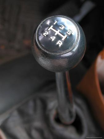 Close Up of Stick Shift