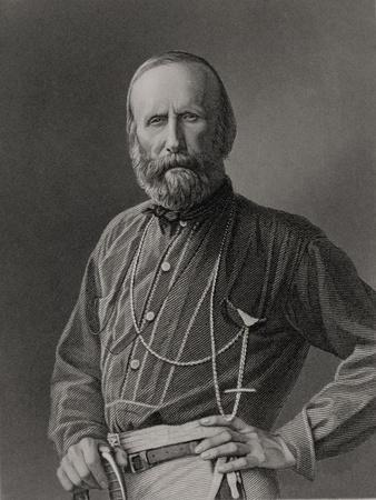 Portrait of Giuseppe Garibaldi