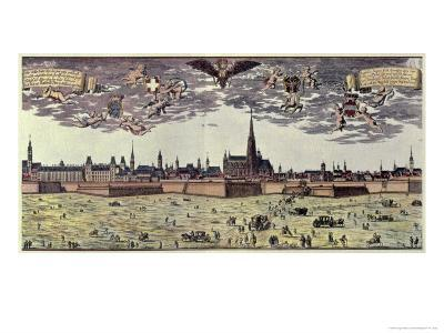 View of Vienna, 1672