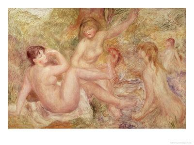 Study For the Large Bathers, 1885-1901