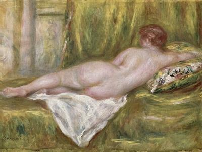 Reclining Nude from the Back, Rest After the Bath, c.1909