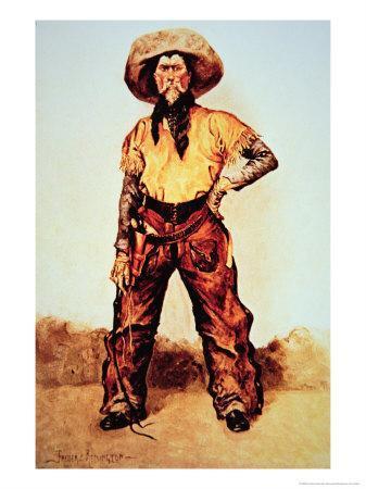 Texas Cowboy, c.1890
