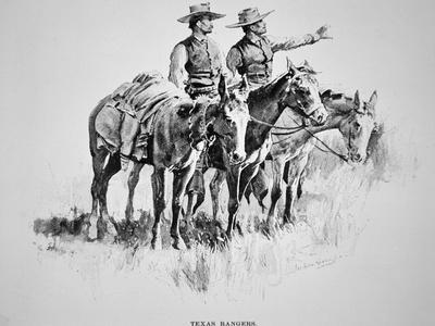 Texas Rangers, Published in 'Harper's Monthly', 1896