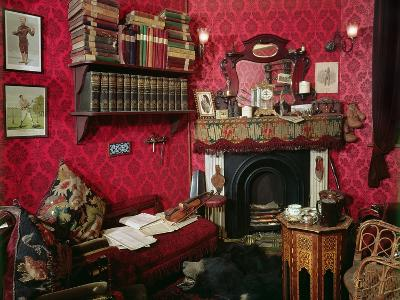 Reconstruction of Sherlock Holmes's Room at the Sherlock Holmes Pub