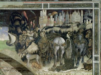 St. George Rescuing the Princess of Trebizond, c.1433-38