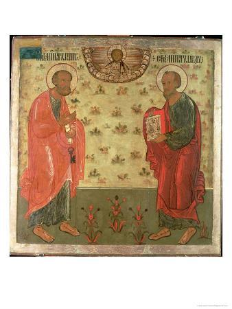 Apostles Peter and Paul, 1708
