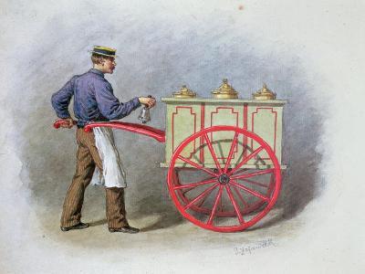 The Ice Cream Seller, 1895