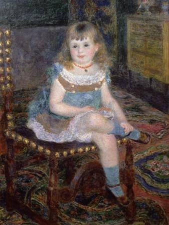 Portrait of Mlle. Georgette Charpentier, 1876