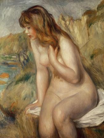 Bather Seated on a Rock, 1892