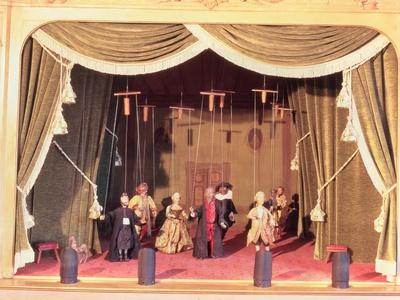 Puppet Theatre with Marionettes, 18th Century