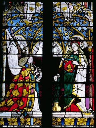 The Annunciation, from the Chapel of Jacques Coeur, 15th Century
