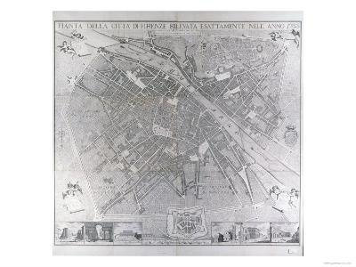 Map of Florence, 1783