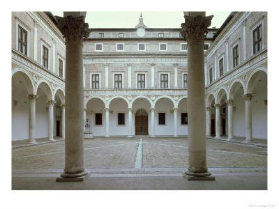 View of the Cortile D'Onore