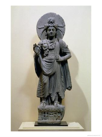 Bodhisattva Figure, from Mekha-Sanda Near Shabaz-Garhi, Pakistan