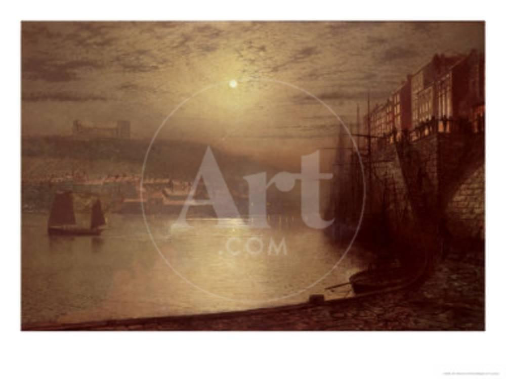 Whitby Giclee Print by John Atkinson Grimshaw at AllPosters.com