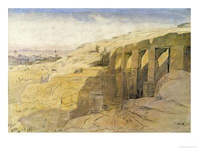 Derr, Egypt, 1867