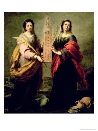 St. Justina and St. Rufina, 1675