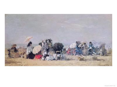 Beach Scene, Trouville, 1873