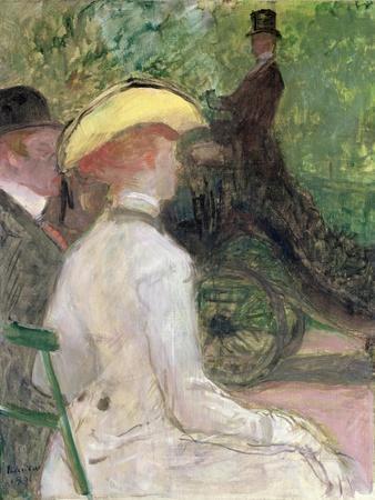 On the Bois de Boulogne, 1901