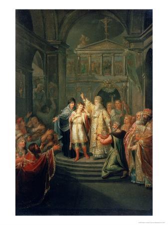 The Election of the Tsar Michael Romanov