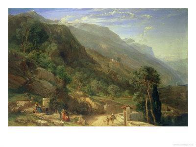 Olive Groves at Varenna, Lake Como, Italy, 1861