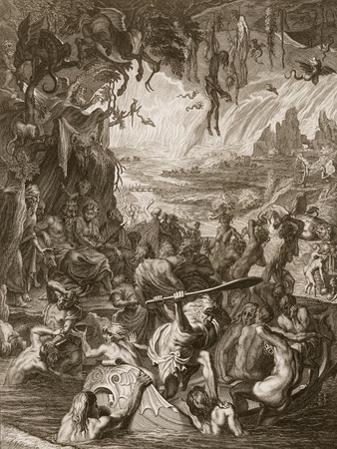 Scene of Hell, 1731