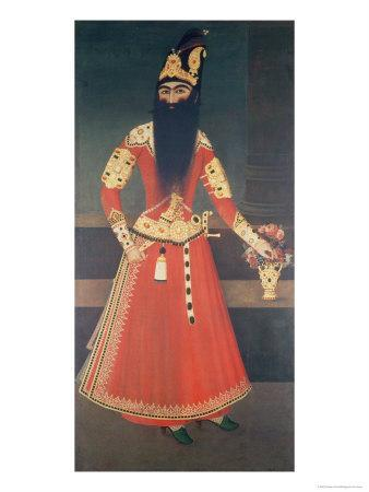 Portrait of Fath Ali-Shah